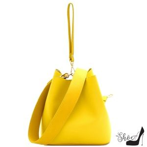 The Shoe Loft Bags - Dani Canary Yellow Candy Kiss Handbag